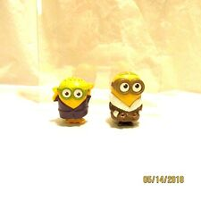 2015 McDonalds Happy Meal Toys Despicable Me Minions Lot of 2