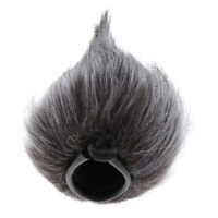 Furry Microphone Windscreen Mic Cover Windshield Interview Wind Muff 11x7cm