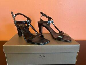 Linea Paolo Women's Daisy Strappy Black Vintage
