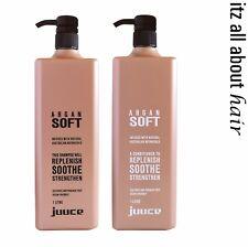 Juuce Argan Soft Shampoo and Conditioner 1lt Duo