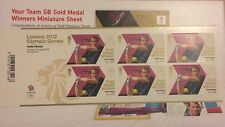 London 2012 Andy Murray Stamps 6 Pack