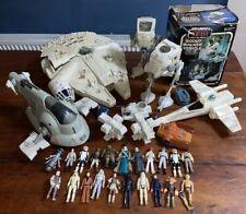 VINTAGE STAR WARS Figures, Vehicles, Parts LOT - 1980's.