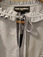 NEW Karl Lagerfeld Paris Bell Sleeve Blouse S.