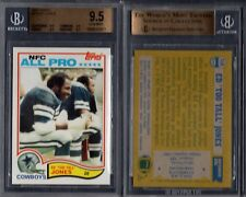 BGS 9.5 1982 Topps #318 Ed Too Tall Jones AP POP3 Dallas Cowboys G00 1761