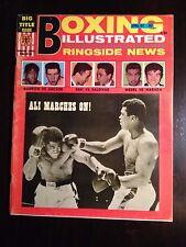 BOXING Illustrated Ringside News Magazine - April 1967 - Muhammad Ali