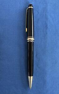 Vintage Black Gold Montblanc Meisterstuck Mechanical Pencil Germany Excellent