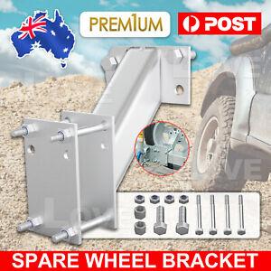 Spare Wheel Bracket Carrier Universal Tyre Holder Trailer Caravan Boat