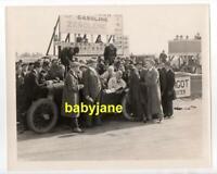 WALLACE REID TEDDY TETZLAFF ORIGINAL 8X10 PHOTO CAR RACING 1919 THE ROARING ROAD