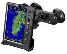 SOPORTE DOBLE VENTOSA VIDRIO MONTAJE RAM-B-166-1-GA38U PARA GARMIN MAPA GPS 695