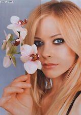 Avril Lavigne-a2 poster (xl - 42 x 55 CM) - captures fan collection NEUF