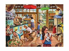 White Mountain Puzzles Pet Shop Jigsaw Puzzle (1000 Piece) Free Shipping