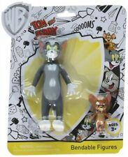 Tom & Jerry pack 2 figurines flexibles Tom et Jerry 12 et 5 cm bendable 49018