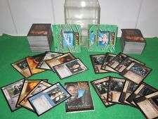 LOTR Lord of the Rings Trading Cards - Approximately 220 Cards - USED
