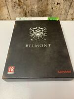 Castlevania Lords Of Shadow 2 Belmont Collectors Edition Xbox360 New Sealedgame