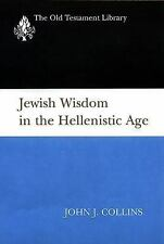 NEW - Jewish Wisdom in the Hellenistic Age (Old Testament Library)