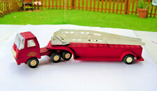 """Vintgage Collectible Pressed Steel Toy TONKA HOOK & LADDER FIRE ENGINE 11"""" 1960s"""