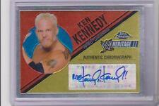 2006 WWE Topps Heritage Chrome 2 MR KEN KENNEDY Autograph AUTO WCW TNA NXT diva