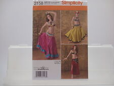 Simplicity 2158, Designed by Andrea Schewe, Belly Dancer Costume, Sizes14-22