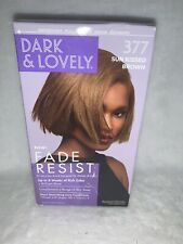 DARK and LOVELY Fade Resist Rich Conditioning Hair Color #377 Sun Kissed Brown