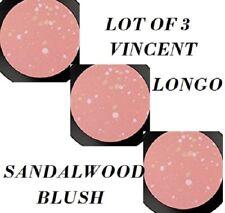 Vincent Longo Dew Drop Radiant Blush SANDALWOOD  X 3 NEW FULL SIZE REFILLS