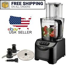 10 Cup Food Processor Vegetable Chopper Grater Dual Blade Disc Kitchen Cooking