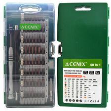 Acenix ® 60 in 1 magnetischer Schraubendreher Set für iPhone, Samsung, Tablets, Laptop