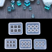Crystal Geometric Jewelry Mold Pendant Silicone Ornament Resin DIY Craft Tools
