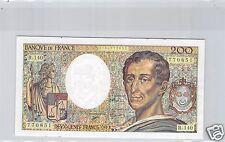 FRANCE 200 FRANCS MONTESQUIEU 1992 R.140 N° 2794770851