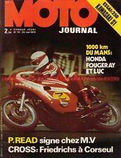 MOTO JOURNAL   70 Essai KAWASAKI 250 S1 ; Renzo PASOLINI ; Le MANS GP IMOLA 1972