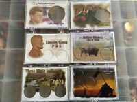 Snaptite Coin Holders; Individually Wrapped 5 Made in USA; Lot of