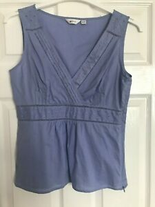 Pretty Blue Sleeveless Top from Next, Size 12