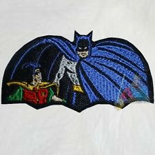 Batman & Robin TV Serie 1966 Intro Embroidered Patch Adam West Batmobile Joker