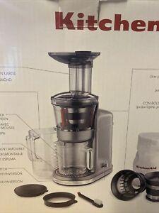 Kitchenaid Maximum Extraction Juicer KVJ0111CU - Contour Silver