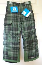 NWT ~ Columbia boys omni-tech Bugaboo Ski Snow pants sz S / 8