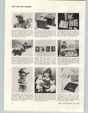 1958 PAPER AD Horsman Dolls Percy Ideal Atomic Cannon Toys Carnell Grey Ghost