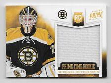 2012-13 Panini Prime Time Rookie Michael Hutchinson Jersey 97/99 Boston Bruins