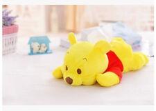 cute pooh the bear lying  plush tissue box holder cover L151 decorate
