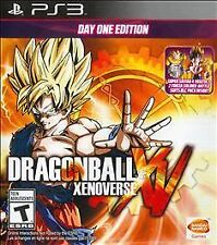 Dragon Ball XenoVerse Day One Edition Sony PlayStation 3 Brand New, Sealed w/DLC