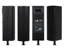 Galaxy Audio LA4DB 4-4.5 inch Powered Line Array Speakers/Black