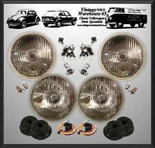 "Lancia Beta Monte Carlo 5 & 3/4"" Sealed Beam Halogen Conversion Headlight Kit"