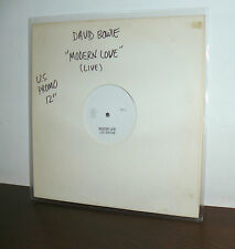 DAVID BOWIE  LP MODERN LOVE  ( LIVE VERSION ) MADE IN US 1983  PROMO