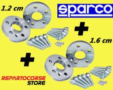 DISTANZIALI SPARCO 12 + 16 mm FIAT 500 L - ruote a 5 fori