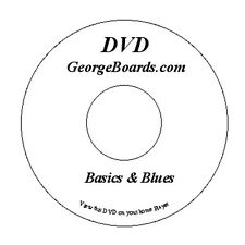 GeorgeBoards Lap Steel Guitar DVD Basics and Blues lesson C6th tuning & tracks