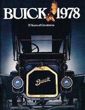 1978 Buick Sales Brochure Ver2 Skyhawk Skylark Century Riviera Electra Regal