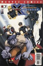 -  X-MEN: EVOLUTION    #'s  3, 4, 5, 6, 7, and 9 (Marvel) key modern comic lot