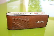 Vintage TELEFUNKEN match 3 radio transistor 1963 Richard Sapper Italie CF TEXTE
