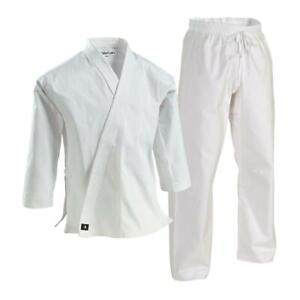 Century White 10oz. Heavyweight Brushed Cotton Uniform Size 5