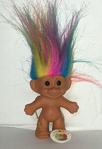 Rare Vintage Rainbow Troll - Small