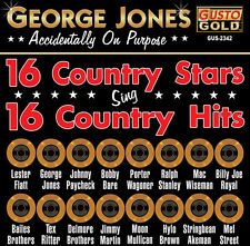 george jones & frien - 16 country stars singen 16 country hits [cd]