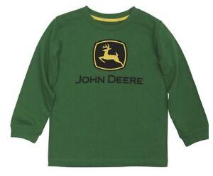 NEW John Deere Green Long Sleeve Logo T-Shirt Size 12 Months LP67473